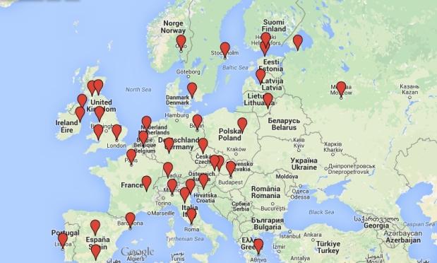 Ruta por Europa 2015