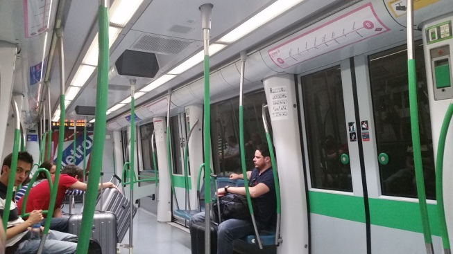 Metro de Madrid . Línea 8