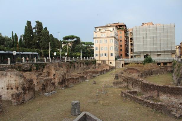 Ruinas en Roma